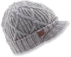 the coal yukon brim beanie offers a traditional fit and features a