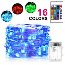 led color changing globe string lights with remote christmas lights 90 led 65 6ft rgb globe string lights 7 color