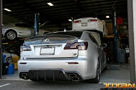 lexus is250 f sport license plate titan motorsports blog custom fabrication