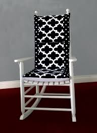 Black Rocking Chair For Nursery by Rocking Chair Pillow Ideas Home U0026 Interior Design