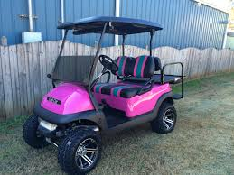 custom golf carts columbia sales services u0026 parts pink club