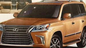 2016 lexus lx truck 2016 lexus lx 570 facelift leaks out early