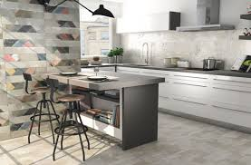 kitchen feature wall ideas industrial themed kitchen feature wall idea with mix cinder