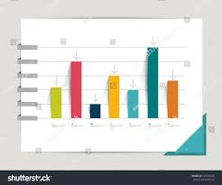 graph chart infographic elements flat design stock vector graph chart infographic elements flat design simply minimalistic concept template