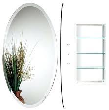 White Oval Bathroom Mirror Oval White Mirror Bathroom Mirror A Cottage White Ornate Oval Oval