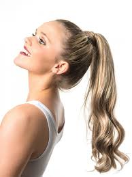 ponytail hair wrap around ponytail hair wavy