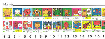 D Nealian Handwriting Worksheets Dnealian Alphabet Strip Coloring Coloring Pages