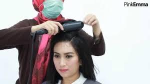 tutorial sirkam rambut panjang tutorial rambut sanggul untuk rambut pendek youtube