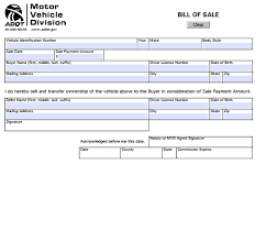 printable vehicle bill of sale bill of sale form car tempss co lab co