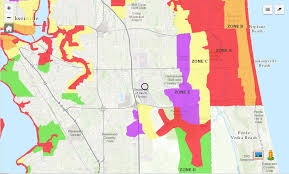 Jacksonville Florida Map Know Your Zone Jacksonville U0027s Evacuation Zones And Where Unf Fits