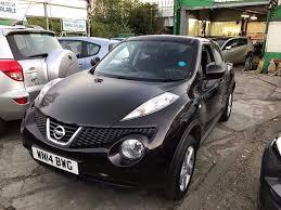 nissan juke visia 2014 1 owner 2014 nissan juke acenta 1 6 petrol black hpi clear