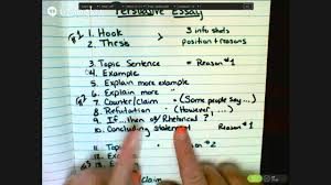 Format For A Persuasive Essay Writing A Persuasive Essay Youtube
