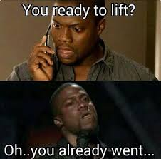 Gym Partner Meme - a gym thing on twitter when your gym partner ditches you