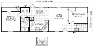mobile home floor plans single wide pleasurable design ideas 4 16x54 mobile home floor plans single wide