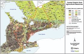 Map Of Ontario Where Are Significant Agricultural Lands Located Neptis Foundation
