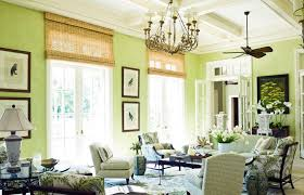 light green paint for natural and earthy living room with