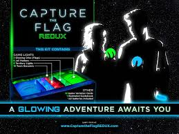 Capture The Flag Flags Amazon Com Capture The Flag Redux A Nighttime Outdoor Game For