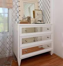 clever storage ideas for small bedrooms stained wood dresser ideas