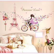 fairies butterfly wall sticker flower fairy princess wall art