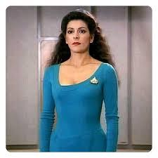 Star Trek Halloween Costume Star Trek Tng Counselor Female Dress Uniform Sci Fi Tv Shows