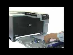 hp color laserjet professional cp5225 imprimante youtube