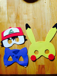 fun pikachu mask craft mask for kids great for all ages