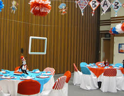 Dr Seuss Baby Shower Decor A Life Created With Love Baby Shower Dr Seuss Thing 1 U0026 2