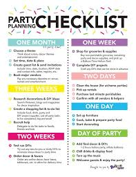 how to be a party planner party planning checklist balloon time planning