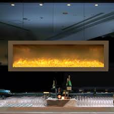 Built In Fireplace Gas by Amantii Fire U0026 Ice Series 50 Inch Built In Electric Fireplace Bi
