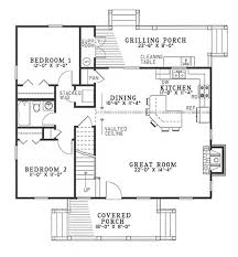 southern home floor plans cabins cottage country house plans home design 153 1230