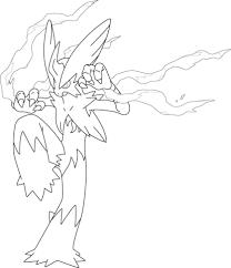 mega blaziken pokemon coloring free printable coloring pages