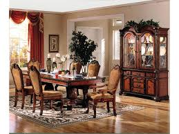 Acme Living Room Furniture by Acme Furniture Chateau De Ville 7 Piece Formal Dining Set With