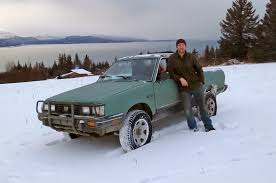 brat subaru lifted celebrity drive eivin kilcher of discovery u0027s u0027alaska the last