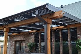 Patio Covers Seattle Stylish Solar Panel Patio Cover As Idea And Tips People Will Need