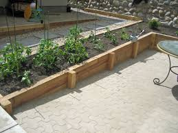 Pictures Of Retaining Wall Ideas by Genial Wood Retaining Wall Design And Wood Retaining Wall Design
