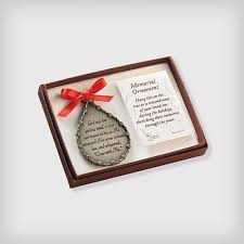 personalized memorial ornament gallery