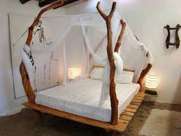 Wood Canopy Bed Wooden Canopy Bed Frame Furniture Favourites