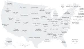 thanksgiving interactive the thanksgiving recipes googled in every state the new york times
