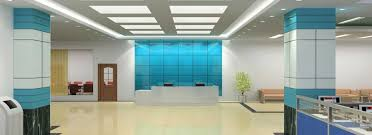 Commercial Interior Design by Office Building Interiors By Jaipur Interiors