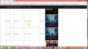 online movie ticket booking system project in asp net youtube