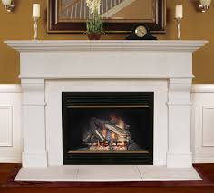 americast architectural roosevelt fireplace mantel surround
