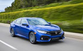 Honda Civic Si Two Door 2017 Honda Civic Si Sedan Pictures Photo Gallery Car And Driver
