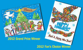 and the winners of the pier 1 imports unicef greeting card contest