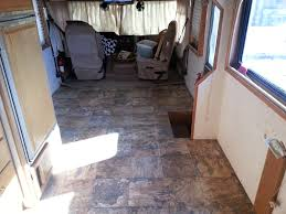 Installing Vinyl Sheet Flooring Rv Flooring Replacement Jdfinley