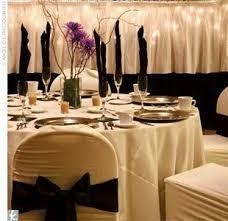 mariage baroque mariage baroque chic deco table ivoire blanc noeud noir cereza