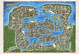 Dnd World Map by Paid Taken Revamp Of Existing High Fantasy D U0026d City Map