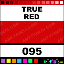 True Red Finest Artists Watercolor Paints 095 True Red Paint