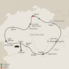 Map Of Switzerland And France by Switzerland Tours Globus Europe Vacations