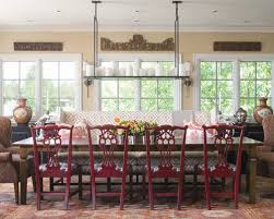 Red Dining Room Chair High Back Dining Chairs Houzz