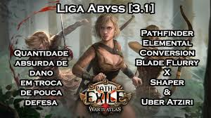 path of exile 3 1 liga abyss pathfinder elemental conversion